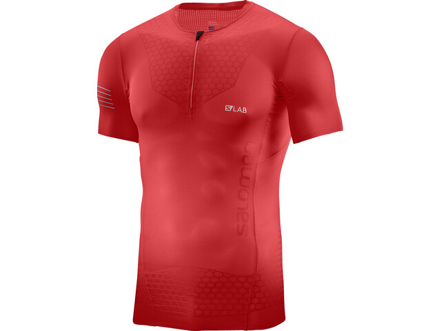 Salomon S/Lab Exo Running T-shirt Men red